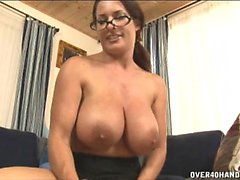 Mega titted over 40 MILF Goldie Blair loves to get her