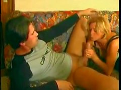 Mature Woman Teaching Young Boy Anal