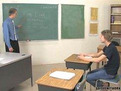 Pissed Off Teacher Gets Happy Ending