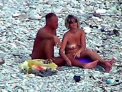 ausgereifte Strand bumsen auf dem Felsen !!!!