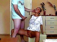 Czech amateurs hot blonde girlfriend & fellow