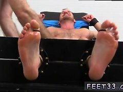 Gay first time foot fetish Chance Cruise Tickle d