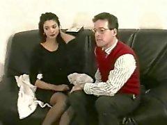 Unbekannt Französisch Schönheit in Alten Pro-Am- Videos (Teil 2)