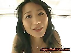 Real asian mature natsumi kitahara undressing part6