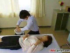 Onu Camları takmak Horny Japonlar Tatlı