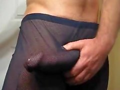 see-through pants