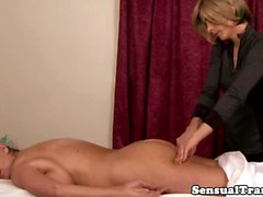 Masseuse tranny sensual full body massage