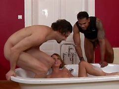 Wet and bushy pussies - Scene 1 - DDF Productions