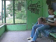 Nossos primeira relação sexual com horta estação de ônibus