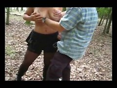2 outdoors facials for my dogging wife Wendy