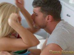 Dane Jones Orgasm for cute blonde in romantic breakup sex with big cock bf