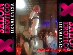 Nora Barcelona follada en el mostrador SEV 2013