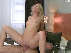 Horny housewife pussy creampie