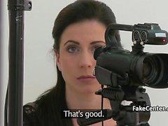 Lesbian agent dominates casting