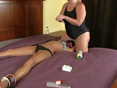 Underarm Lotion Tickling