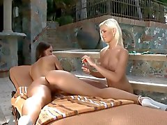 Sweet ass massage - Dido Angel & Melisa Mendiny