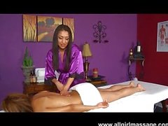 Вики Chase прекрасная Massage половые губы
