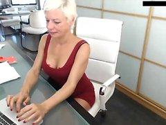Crazy Mature Amateur på webbkamera