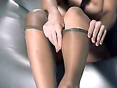 Babes in pantyhose erotica with strap on