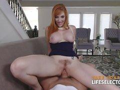 Lauren Phillips - Gorgeous Redhead Milf Loves Dick