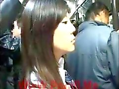[Japan Porn] Public Blowjob On Bus 01
