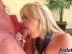 Sexy Sindee squirts while being screwed