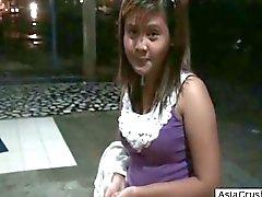 Filipina Waitress Used By My Cock