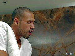 Esperanza Gomez in the nude enjoying massage