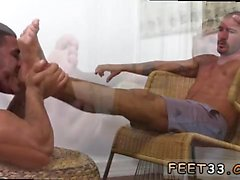Mens chaussettes porno gay Johnny Hazzard Stomps Ricky Larkin