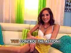 Chloe Amour - Latina Goddess Worships Big Dick