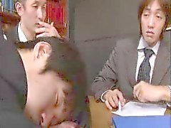 The MILFsecretary's JOB--- gangbang