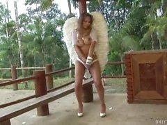 TS angel looks amazing