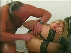 Hairy Italian loves anal