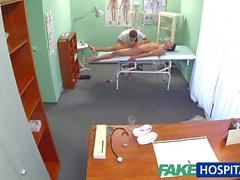 FakeHospital Nurse treats patient before sex