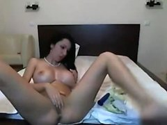Latina Big Ass Dildo Masturbate