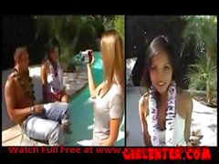 See gorgeous Katsuni as young Asian wannabe at her first castings