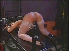 Lesbian Stocking Spanking