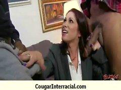 Busty cougar hottie bangs BBC 28