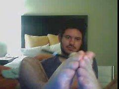 Heterosexuales pies en la webcam # 306 de