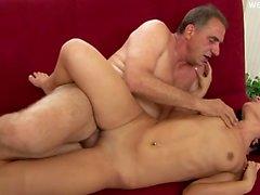 Horny girl ass spanking