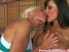 Euro Blonde Puma Swede Fucks Lisa Ann !
