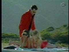 Kylie Ireland & Bianca Trump & Tony Tedeschi scene from Babewatch 1