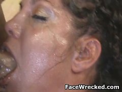 Victoria Money Slapped And Face Fucked