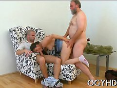 Tiny kinky young sweetie gets her pussy slammed by old man