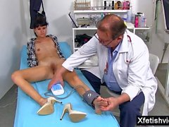 Hot amateur fetish with cumshot