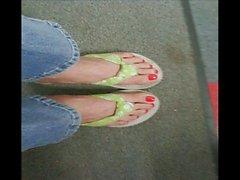 sexy mature foot shoe fetish