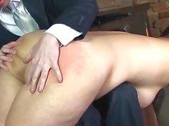 russian bbw spanked !!!!