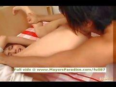 Di Tina Yuzuki innocenza ragazza Cina ottiene figa leccare