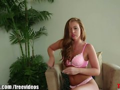 Throated_Maddy OReilly gets cum in her eye