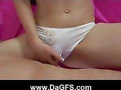 Sexy Sandy Porn koesoittovideota